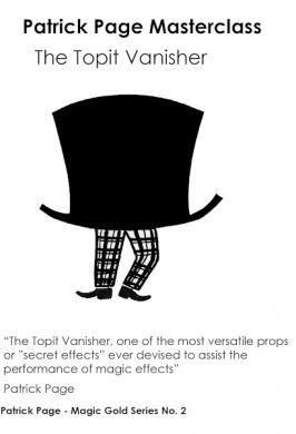 Bildergebnis für Topit Vanisher Masterclass by Patrick Page